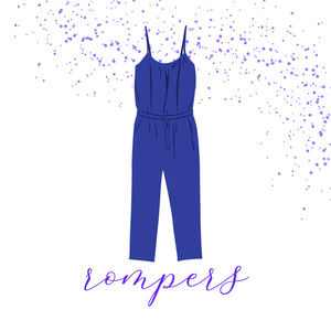 Welcome to our Romper Section!